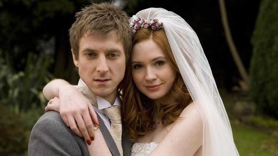 Amy Pond Rory Wedding Doctor Who The Big Bang