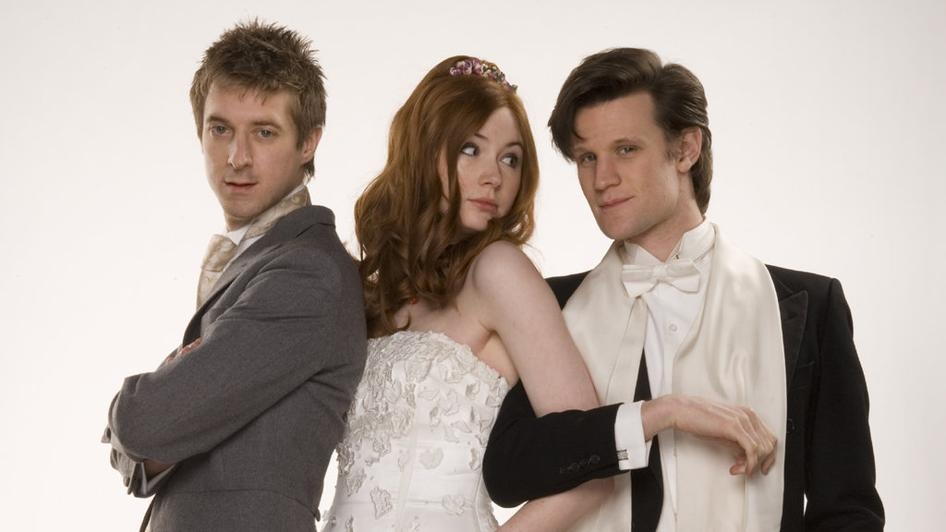 Amy and Rory Pond Wedding